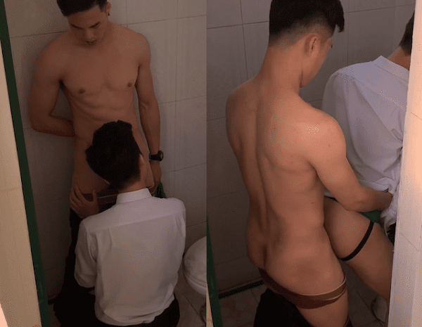 Sex Gay Viet nam: Toilet Fucking