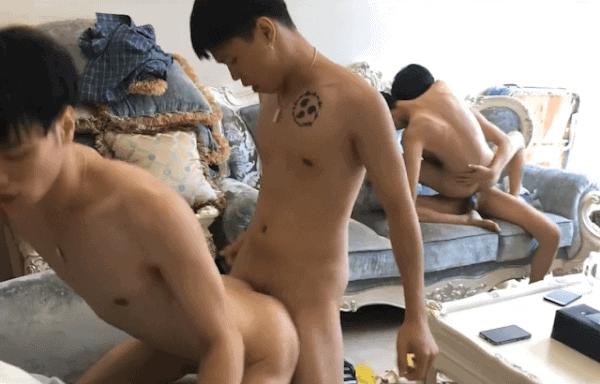 (CHINESE)小帅哥的生活-6P