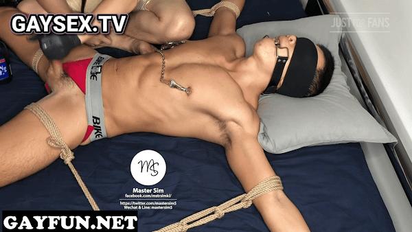 Slave cumshot